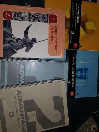 libros de 2 bachiller mixto del Enrique Nieto