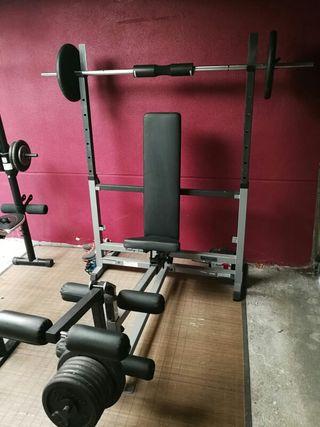 bancos de pesas