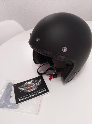 casco Bell 500 negro mate Harley davidson