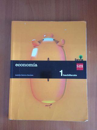 Libro de economía 1º bach