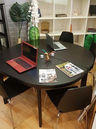 mesa modular ikea , oficina,salon