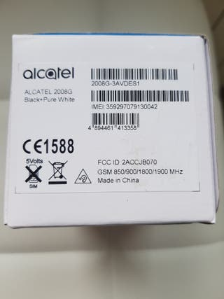 Alcatel 2008G Black&White