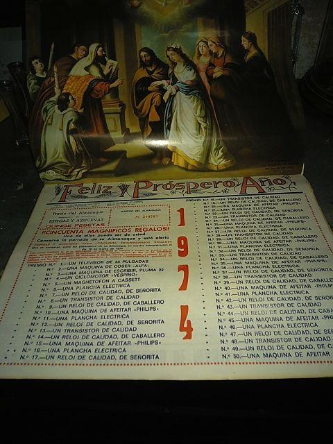 Calendario 1974.Calendario 1974 De Segunda Mano Por 2 En Benifaraig En