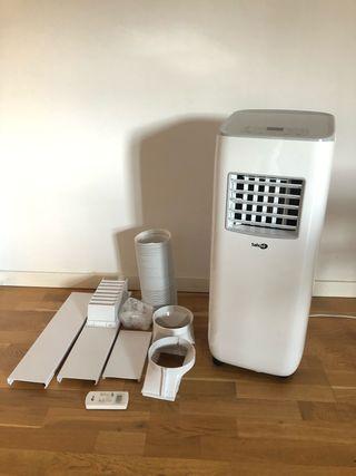 Aire acondicionado portátil adaptador ventana
