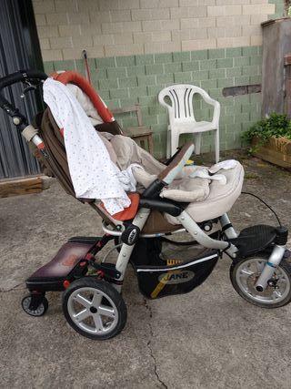 Patinete para carrito bebé