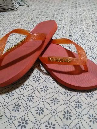 havaianas Chanclas Mano Por 15 RosaceoDe Segunda color naranja 5LR34jqA