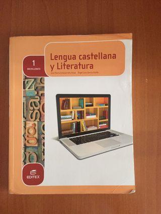 Libro lengua castellana y literatura 1º bach