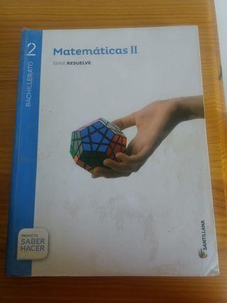 Libro Matemáticas Bachillerato 2