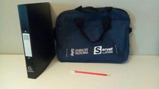 Nuevo maletín archivador lapiz