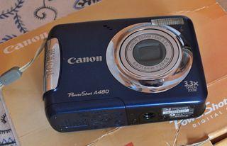 Canon Powershot A 480, completo y perfecto