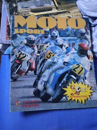 Album Cromos Moto Sport. Panini.