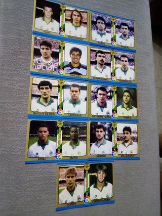 cartas liga 1995 fútbol total racing Santander