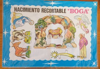 Nacimiento recortable editorial Boga