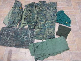 ropa militar a estrenar