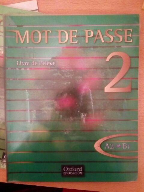 Lote de libros de francés nivel A2, B1