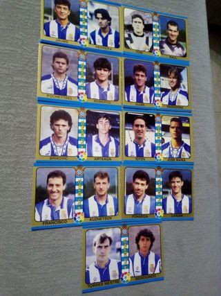 cartas liga 1995 fútbol total español