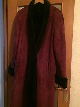 abrigo mutton reversible