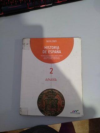 Historia de España (2 Bachillerato) ANAYA