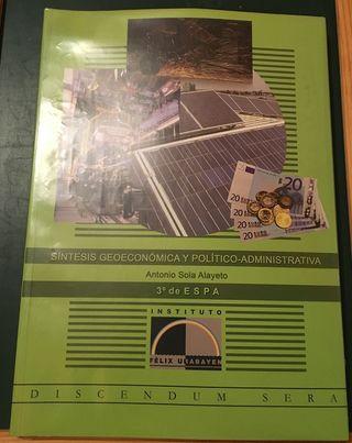 Libro Sociales 3º ESPA Félix Urabayen. Nuevo