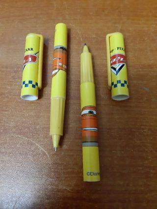 2 Bolígrafos Película Cars