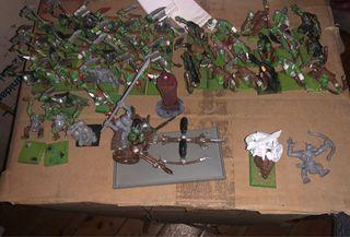 Ejército orcos de warhammer