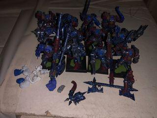 Regimiento caos warhammer