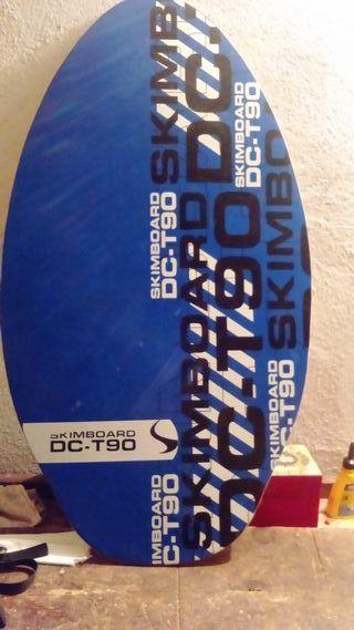 TABLA SKIMBOARD SURF MADERA DC-T90