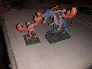 Pack figuras warhammer