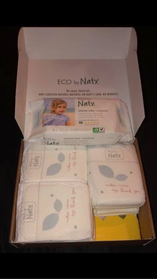 ECO by Naty nappies and wipes