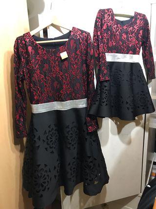 2 vestidos para madre e hija