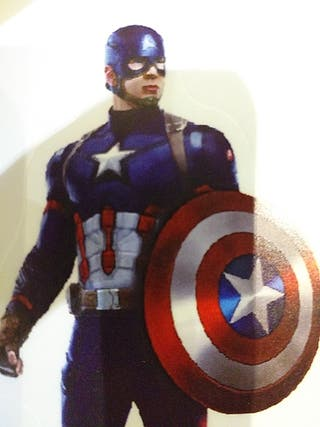 pegatinas capitan america