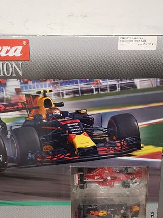 circuito carrera evolution f1 nuevo