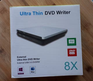 DVD writer. Reproductor DVD