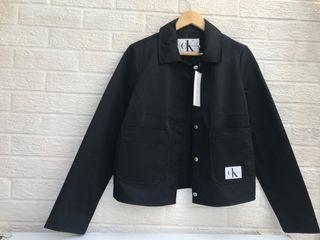 Matte Black Calvin Klein Tucker Jacket