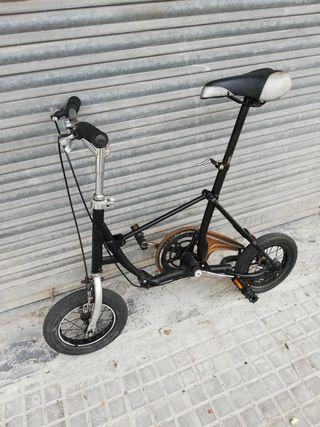 """Bici plegable pequeña b fold b twin rueda 14"""""""
