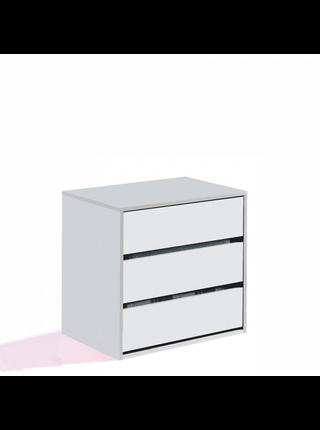 Cajonera para armario blanco brillo 810233
