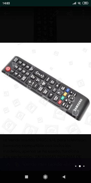 MANDO TV SAMSUNG PRECIO NEGOCIABLE