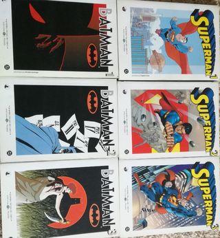 LOTE BATMAN / SUPERMAN COMIC