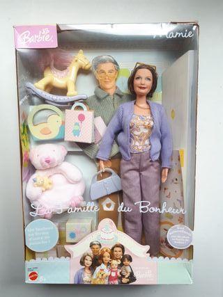 Barbie Mamie happy family