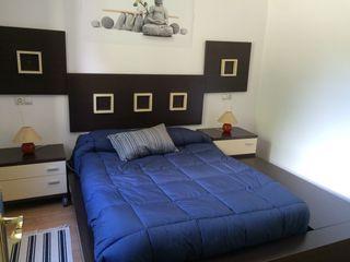 Habitación vintage con bancada