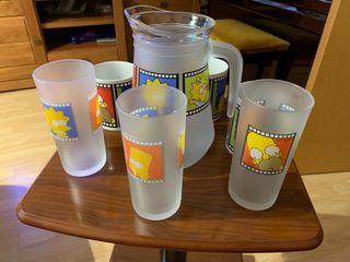Colección Vasos, tazas y Jarra Los Simpsons