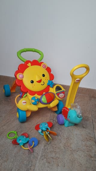 Lote juegos FISHER-PRICE
