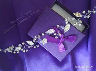 Nuevo diseño ! Preciosa Tiara de cristal Swarovski