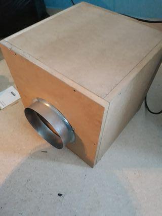 extractor caja insonorizado 550 m3h