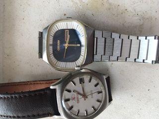 Vendo 2 relojes vintage