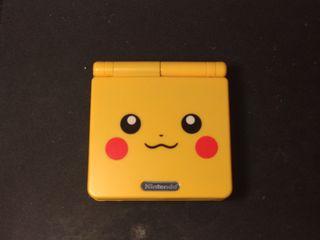 GBA SP Edición Especial Pikachu