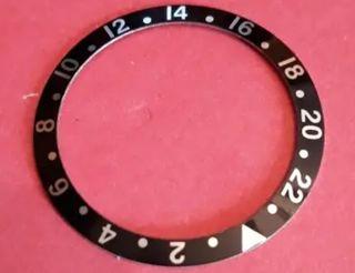 bisel reloj GMT