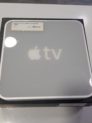 apple tv 2 gen a1218 en caja 40gb y mando