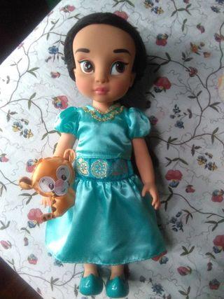 Muñeca disney Jasmine animator