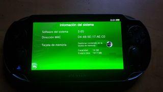 Psvita 3.65 trucable vendo / cambio por Ps4